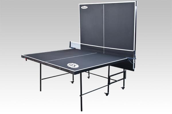 双子星折叠乒乓球台黑色面板